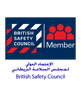 International Accreditation Certificate for the British Safety Council